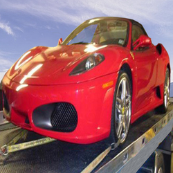 K O towing exotic cars