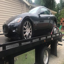 exotic cars Towing Services