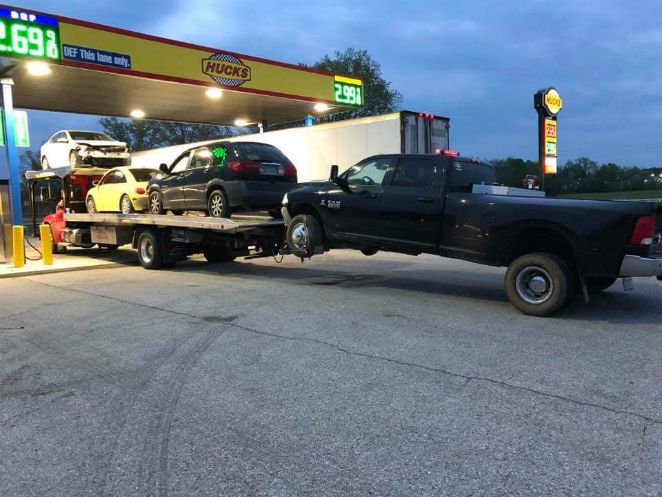 K O Towing Gas station